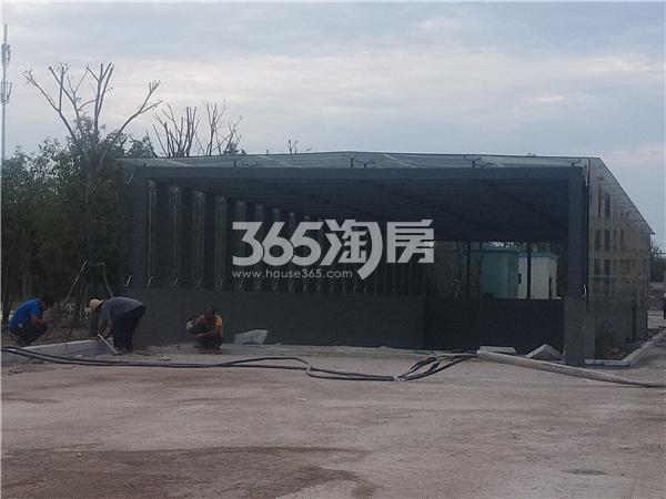 聚云商务广场 地下车库 201809