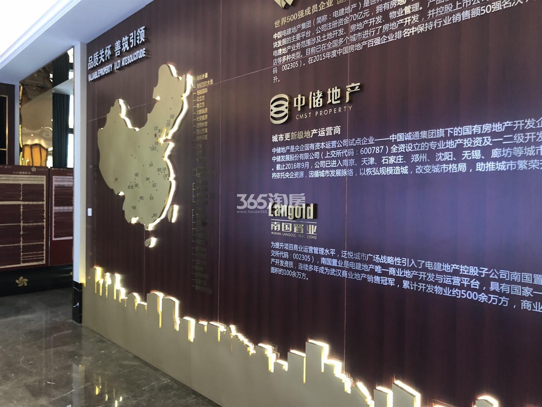 电建中储泛悦城市广场售楼处实景图(12.18)