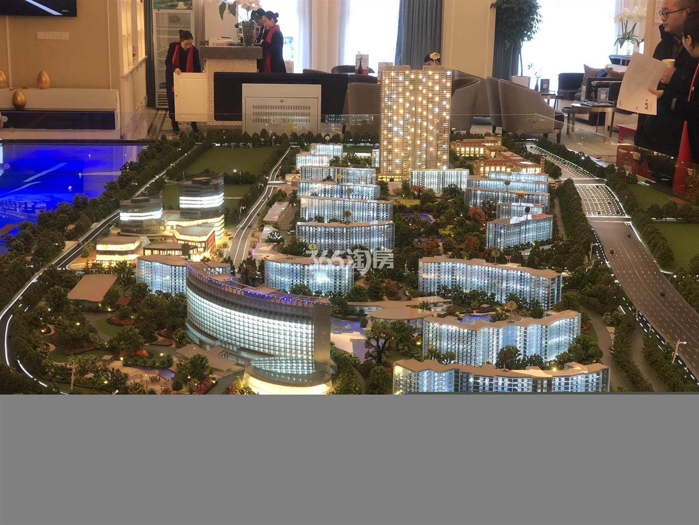 世茂外滩新城实景图