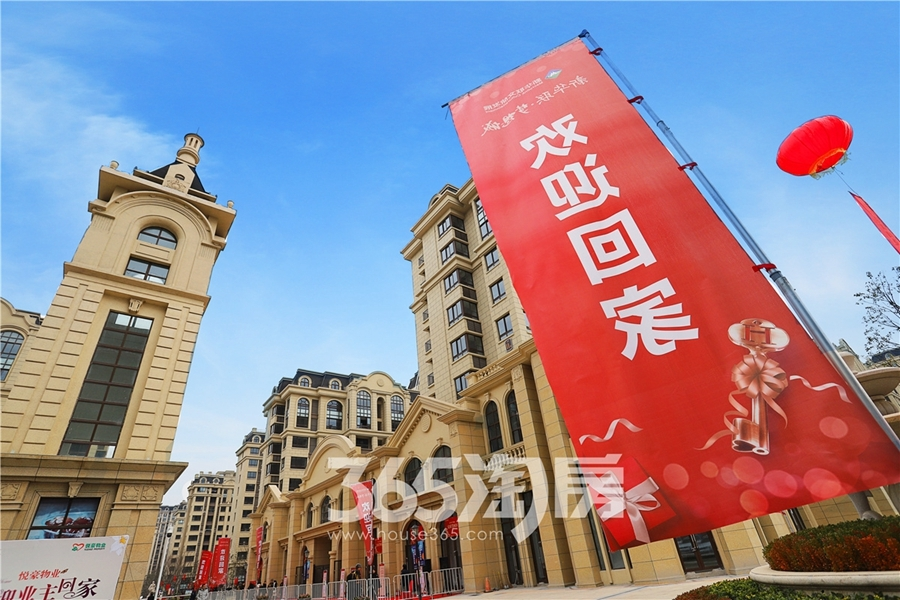 新华联梦想城新悦都住宅三期交付(2018.12摄)