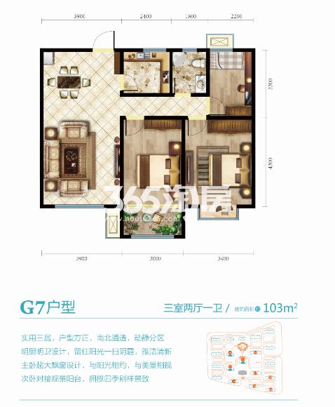 G7三室两厅一卫