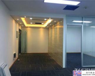 地铁口 中泰国际广场 纯写可注册 2个房间1个厅 中央空调