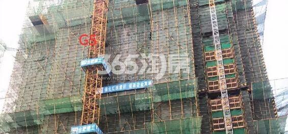 公元天下G5十九层工程进度实景图(2018.4.17)