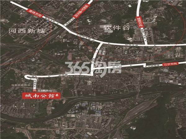 中海FUN花里交通图