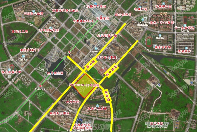 百郦华庭交通图