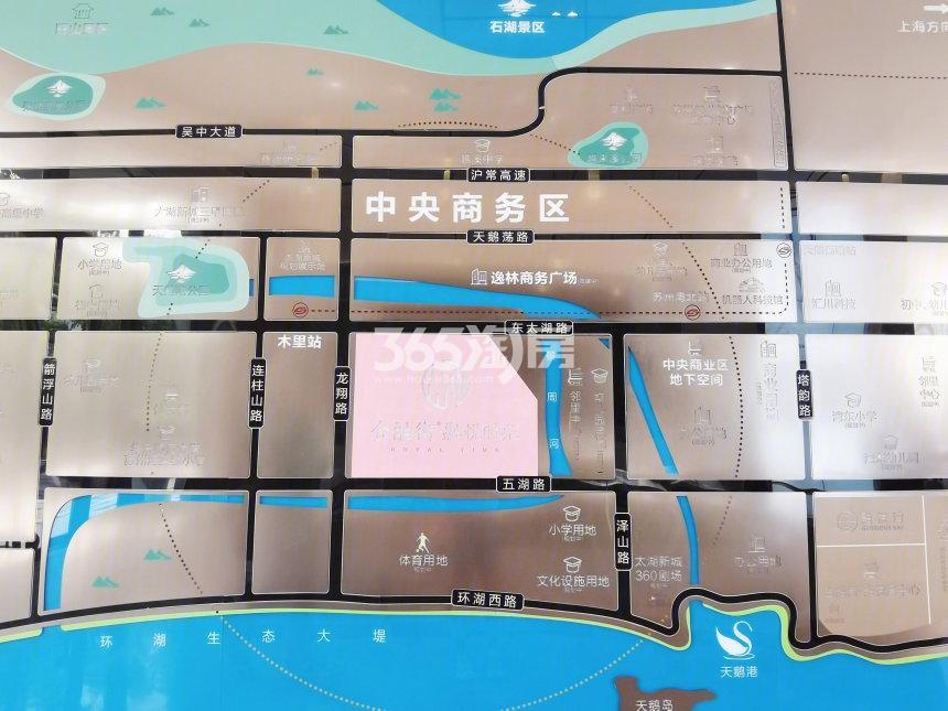 金融街融悦时光交通图