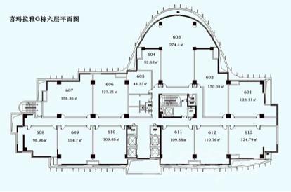证大喜玛拉雅中心125平米整租毛坯可注册