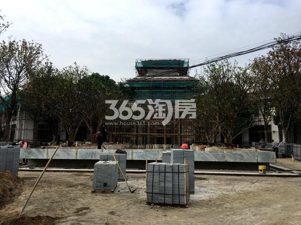 蠡湖一号全新售楼处在建工程实景(2017.10摄)