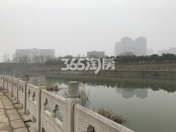 柏庄香府 席家沟水景 201803