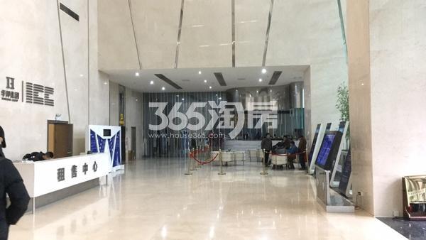 华邦ICC售楼部内的租售中心(2018.3.5)