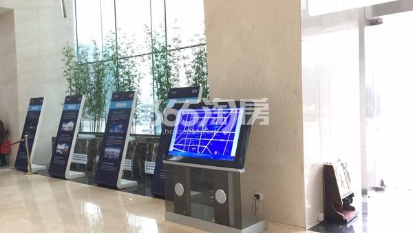 华邦ICC售楼部内的品牌及区位展示(2018.3.5)