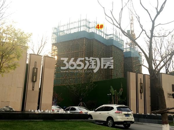万科北门塘上4#楼高层工程进度实景(2017.11摄)