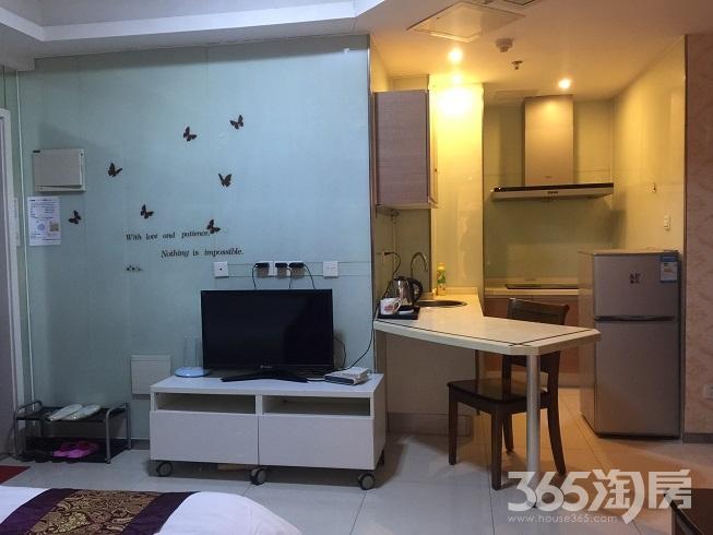 中商万豪中心单身公寓38�O整租精装拎包入住