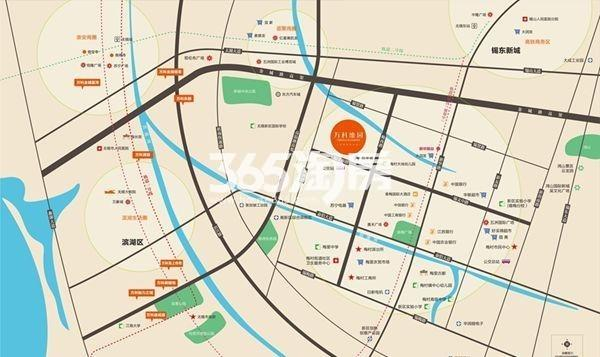 万科维园交通图