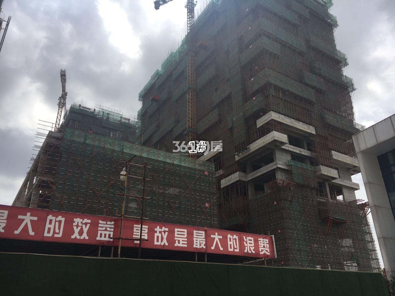 明发财富中心1号楼实景图(9.12)