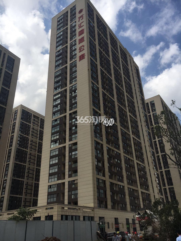东方万汇城南区4号楼实景图(9.12)