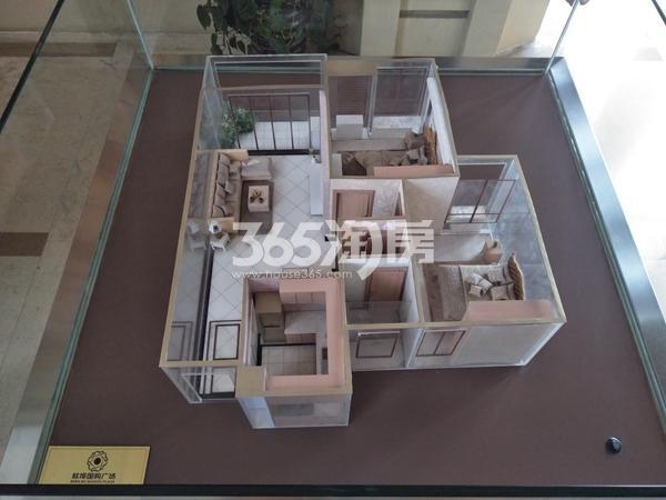 蚌埠国购广场 户型模型 201805