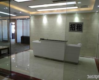 河西CBD 嘉业国际城3豪华装修办公家具齐全地铁口临新地中