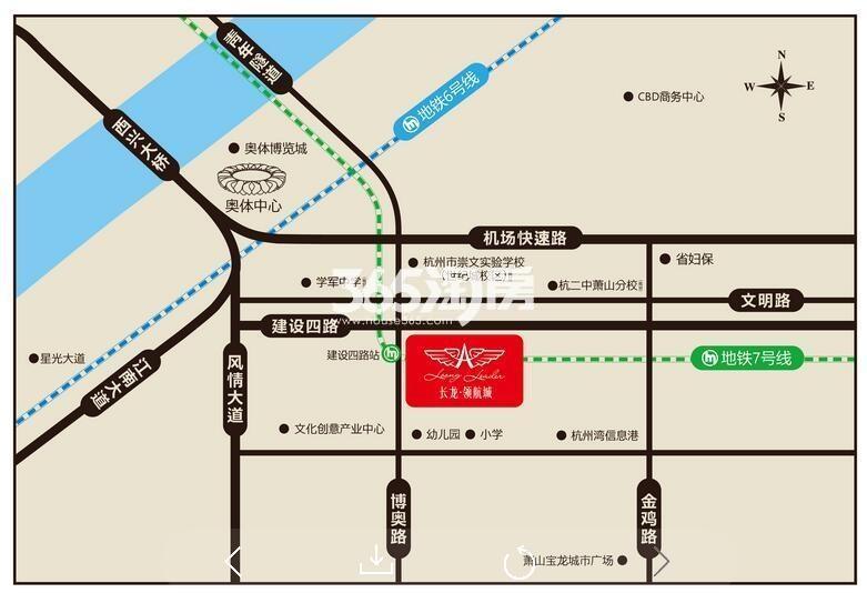 领航城交通图