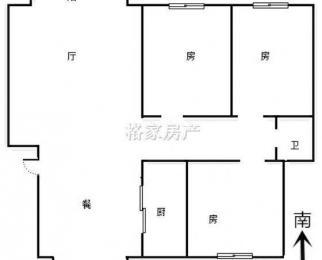 香格里拉旁,精装三房,诚心出售,随时看,好房急推,看房方便