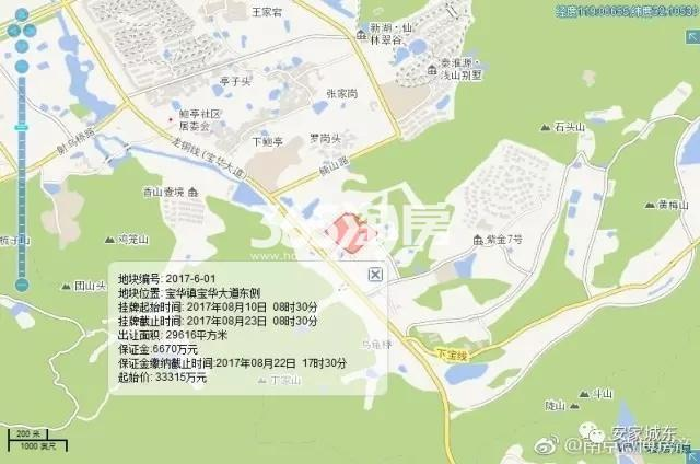 宝华2017601地块交通图
