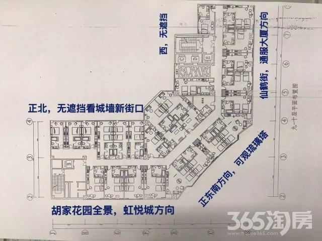 秦淮区集庆路泽天酒店写字楼租房