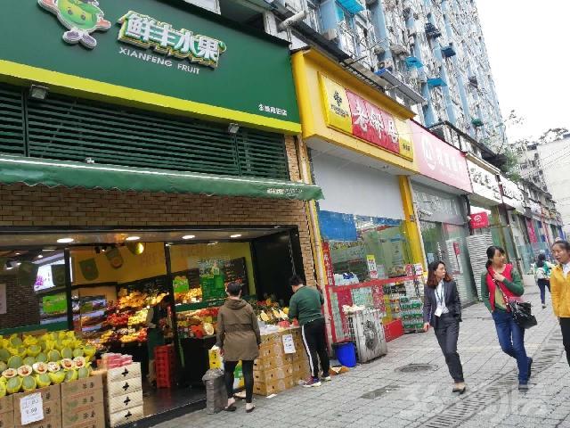 鹏瑞利广场,万达商圈,租《老邻居超市》年租10万