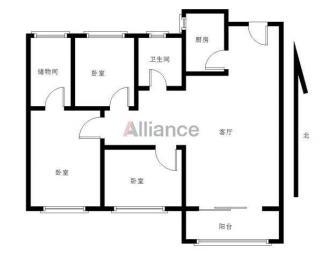 万科城精装修三房 楼层好 采光好 看房方便