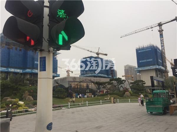 碧桂园黄金时代 工地实拍 201809