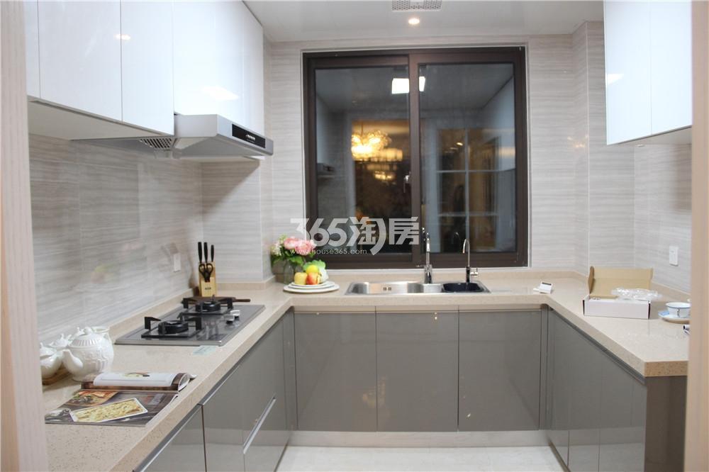 江山薈C1户型样板间-厨房