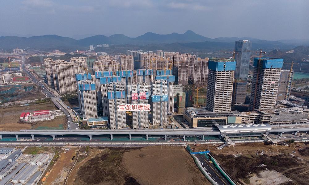 蔚宸悦城实景图