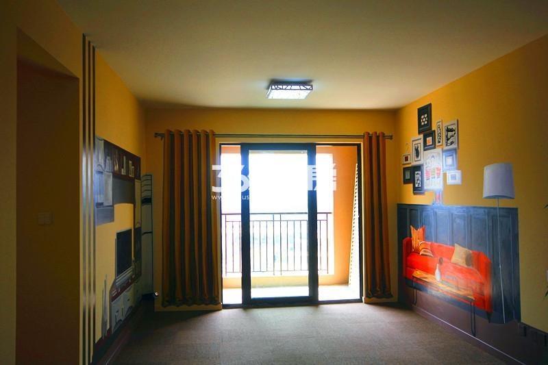 雅居乐国际花园B2户型110方样板房——客厅
