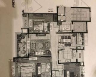 宏图上水云锦二期3室2厅2卫130㎡整租豪华装