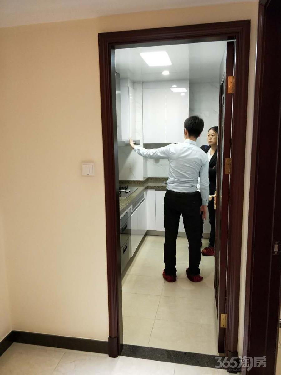 哈尔滨恒大御峰2室2厅1卫86.79平米2016年产权房精装