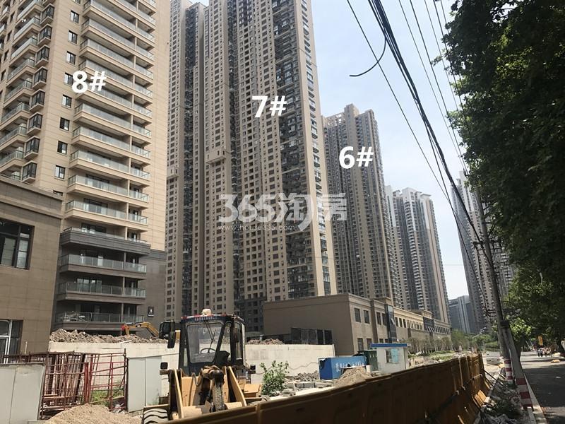 世茂外滩新城项目6、7、8号楼进展图(10.20)