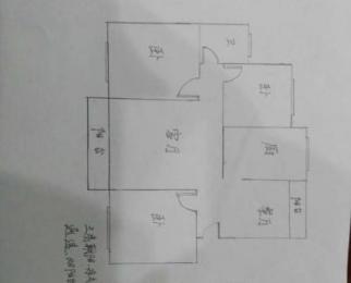 武夷绿洲3室2厅1卫107.29平米简装产权房2009年建