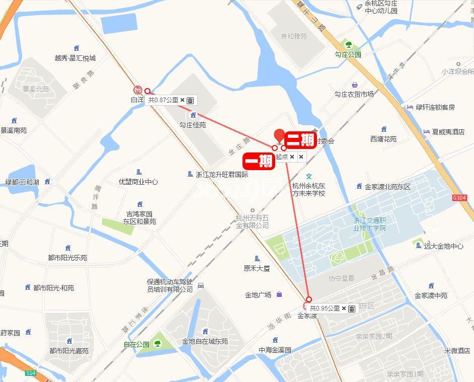 上实海上海(二期)交通图