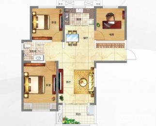 新世界公馆3室2厅1卫104.00�O整租精装附带一个地下车