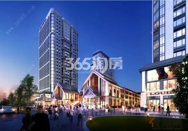 荟金亚太经贸中心实景图
