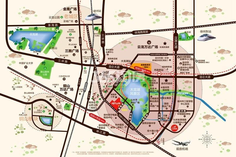 观澜别院交通图