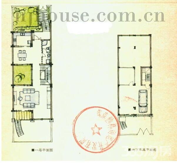 栖霞区仙林山水风华3室2厅户型图