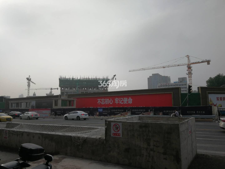 绿地紫金中心·观峰实景图