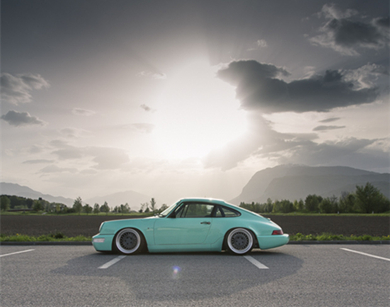 保时捷964改装 重现经典超跑老爷