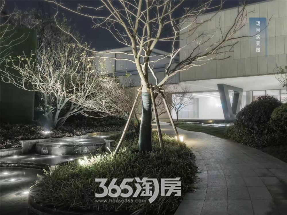 万科江东府实景图