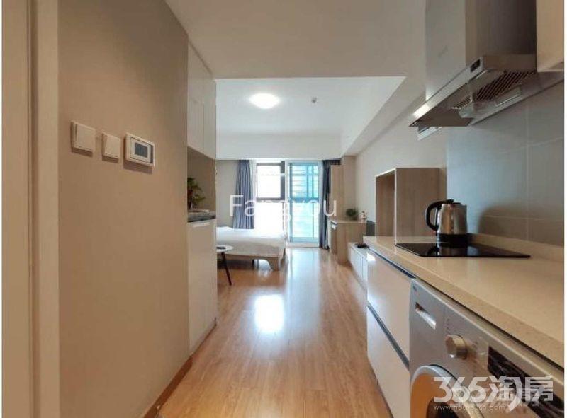 雨花台区南京南站万科九都荟公寓租房
