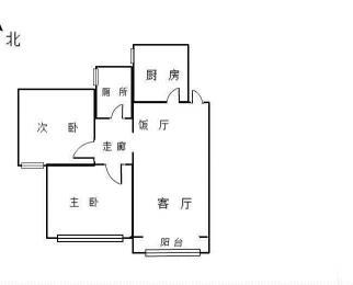 花园实小学 区房 方正两室 位置安静 适合居家陪读工作居住