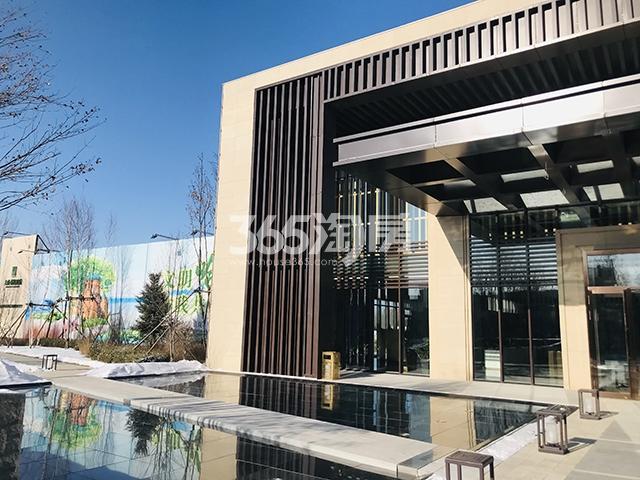 天成·溪树庭院实景图