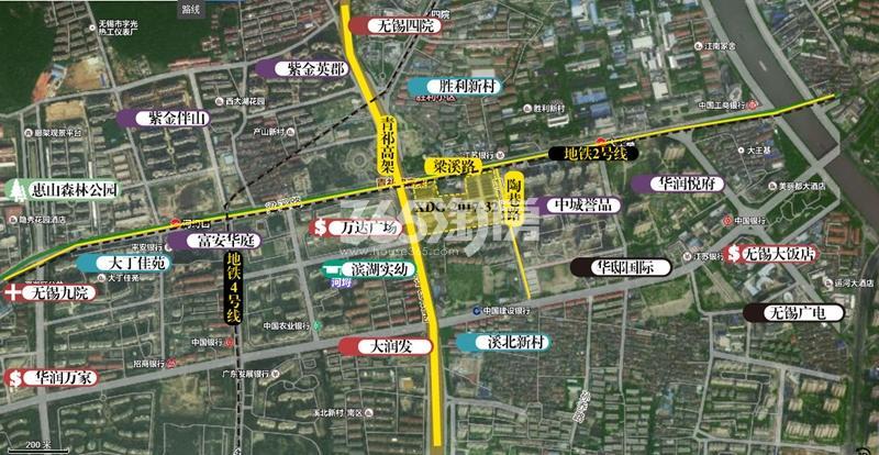 康桥府交通图