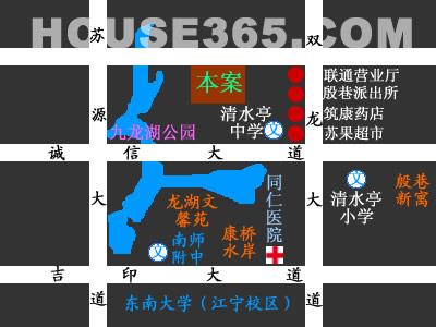颐和南园交通图