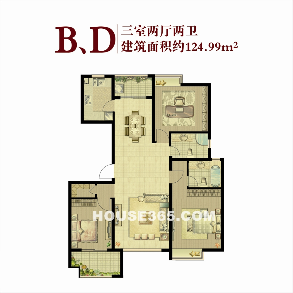 B,D户型(11.6)